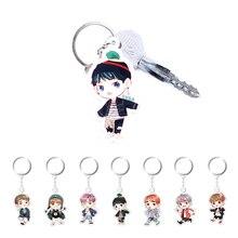 1PC Sale Cute Kpop BTS Bangtan Boys Suga Q Edition Acrylic Keychain Keyring Pendant