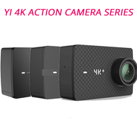 YI 4K+(Plus) Action Camera Xiaomi YI Lite 16MP Real 4K Sports Camera WIFI Bluetooth 2 Touch LCD Screen EIS 150 Degree Lens