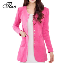 Sweet Lady Casual Slim Trench Large Size M-4XL 2017 New Autumn Korean Style Single Breasted Woman Fashion Coat