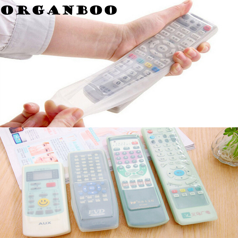 Desk Set Office & School Supplies 1 Pcs Protective Waterproof Silicone Cover For Tv Remote Control Home Air Conditioning Dust Jacket Bag In Many Styles