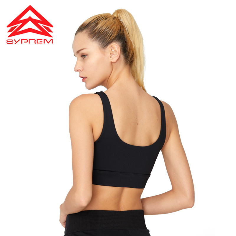 SYPREM Sports Bra Fitness Gym Bra  Non Steel Gather High Strength Sexy Shockproof Women Seamless Sports Yoga Fitness Bra ,1705