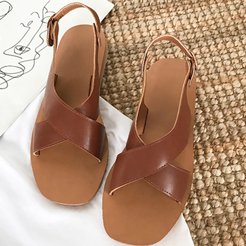 Moxxy 2018 New Hot Sale Sandals Women Summer Slip On Shoes Peep-toe Flat Shoes Roman Sandals Mujer Sandalias Ladies Flip Flops 2017 new summer sandals women flat fashion sandals comfortable ladies shoes sandals shoes woman mujer ladies flip flops footwear