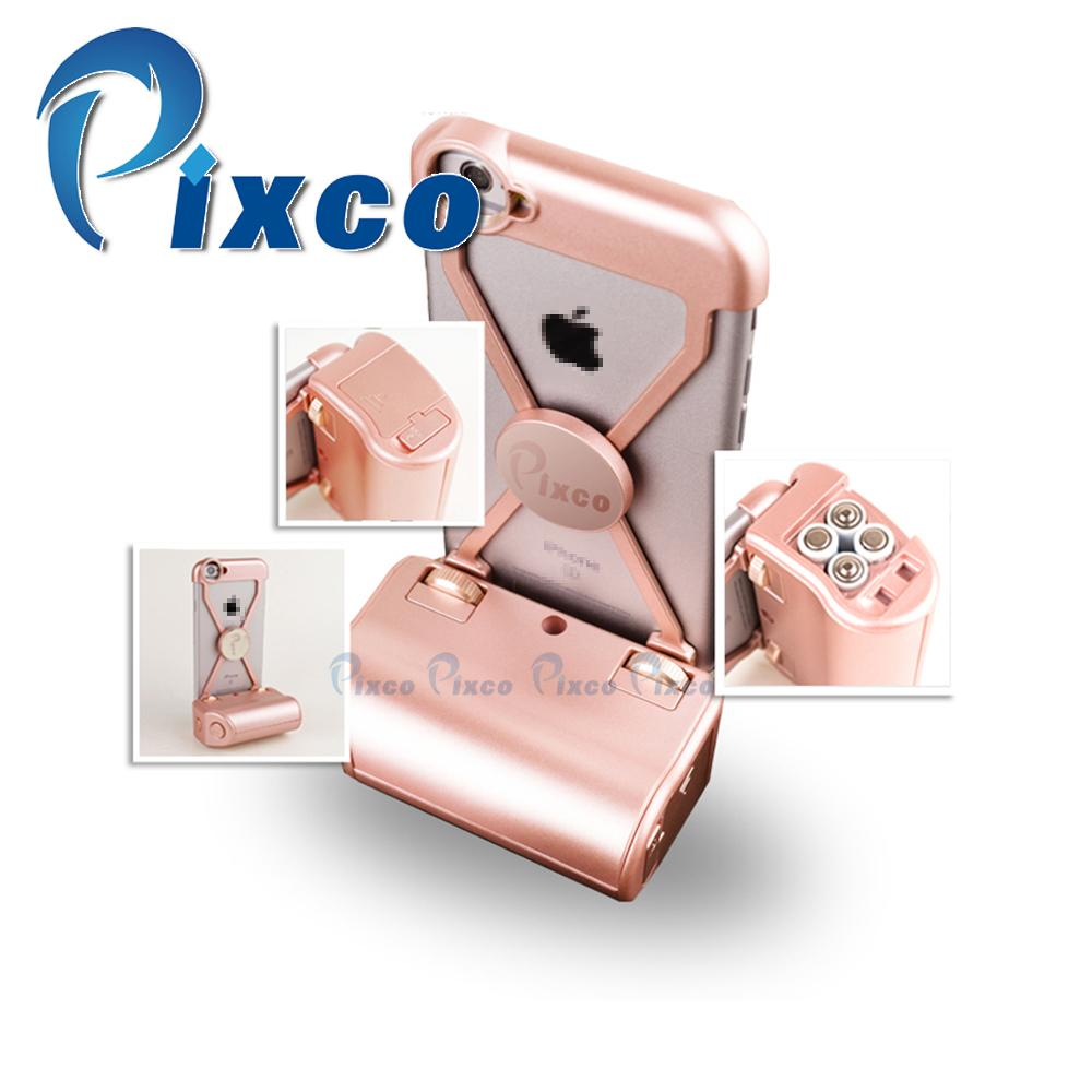 Pixco Selfie Sticks iP.hone case 4.0 bluetooth adapter bluetooth camera remote Shockproof phone case Suit For I6