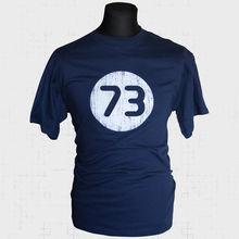 The Big Bang Theory 73 T Shirt Sheldon Cooper Cool Vintage Funny New New T Shirts Funny Tops Tee New Unisex Funny Tops цена