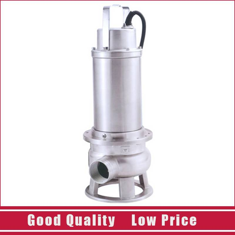 9.191.1kw High-lift Pumping Water Resistant Garden Irrigation Drainage Pump Stainless Steel 220V/50HZ Submersible Sewage Pump 250w 130l min 7m light 220v stainless steel submersible water pump small automatic sewage pump waste water pump