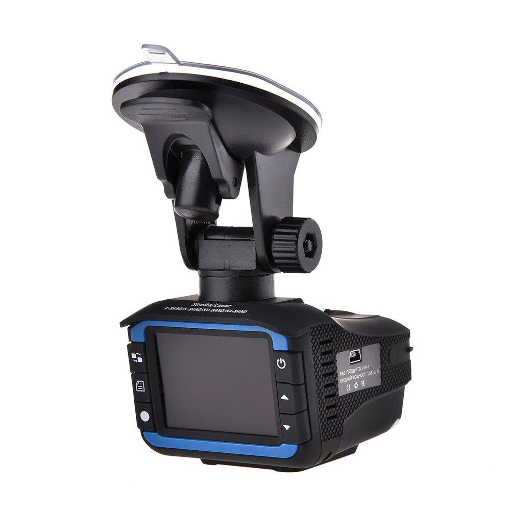3 in 1 Auto Radar Detectoren DVR Recorder Russische Gewijd Voice Broadcast GPS Camera Dash Cam Vaste/ stroomsnelheid Meting - 4