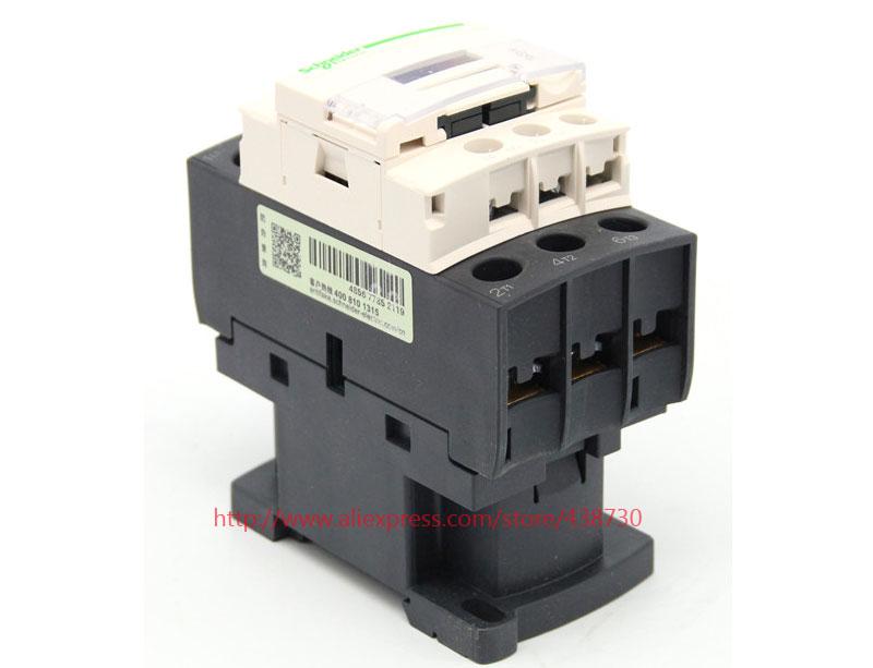 HTB1wkaoQVXXXXbWXFXXq6xXFXXXu - 1pcs AC contactor 38A LC1D38M7C Q7C B7C AC220V 380V 36V 24V LC1D-38 50 / 60HZ free shipping