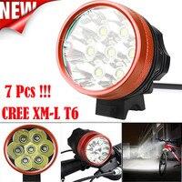 B2 Super Bright LED 15000LM 7 x Światła XM-L T6 LED Rowerów Jazda Na Rowerze Lampa Światła Wodoodporna Wytrzymały I Trwały Hurtowni i hurtownia