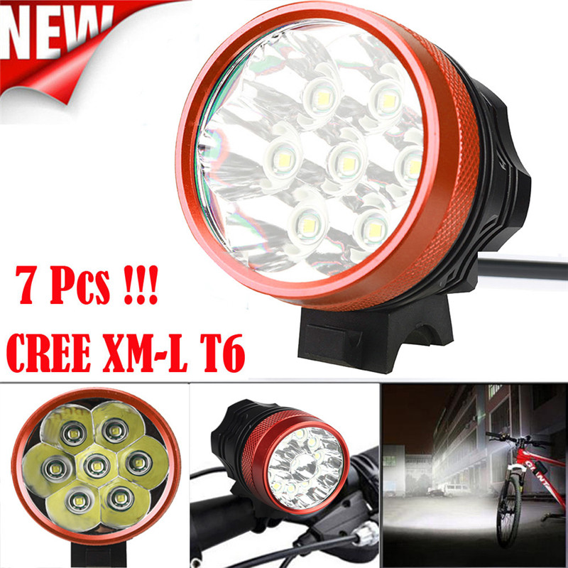 B2 Super Bright LED 15000LM 7 x Light XM-L T6 LED Bicycle Cycling Light Waterproof Lamp Sturdy And Durable Wholesales&Retails