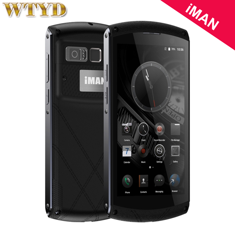 4G iMAN Victor 64GB 4GB Fingerprint Recognition 4800mAh Android 6 0 MT6755 Octa Core 2 0GHz