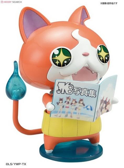 yo kai watch original jibanyan kyubi assembly figure yokai youkai