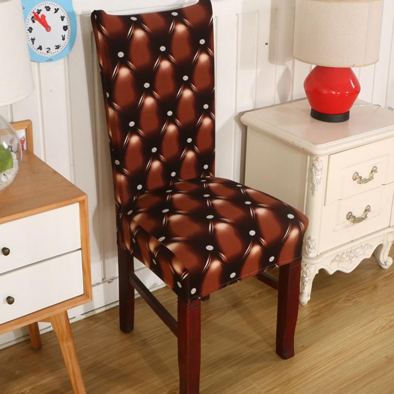 Dining Room Chair Protective Covers: Spandex Dining Chair Slipcovers Removable Universal