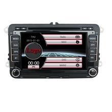 "Bonroad 7 ""Pantalla Táctil capacitiva 2 Din Reproductor de DVD Del Coche para VW con Radio RDS Bluetooth GPS USB TF Tarjeta 1080 P Video Libera El Mapa"