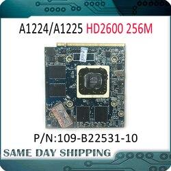 Используется для iMac 20 A1224 24 A1225 VGA карта HD2600 HD 2600 256M 256MB видеокарта для ATI Radeon 109-B22531-10