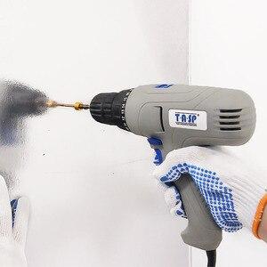 Image 3 - TASP 280W 2 Velocità Trapano Elettrico Cacciavite Keyless Mandrino 5 m Cavo per Una Migliore di Perforazione e avvitamento Strumento di Potere Set MESD280C