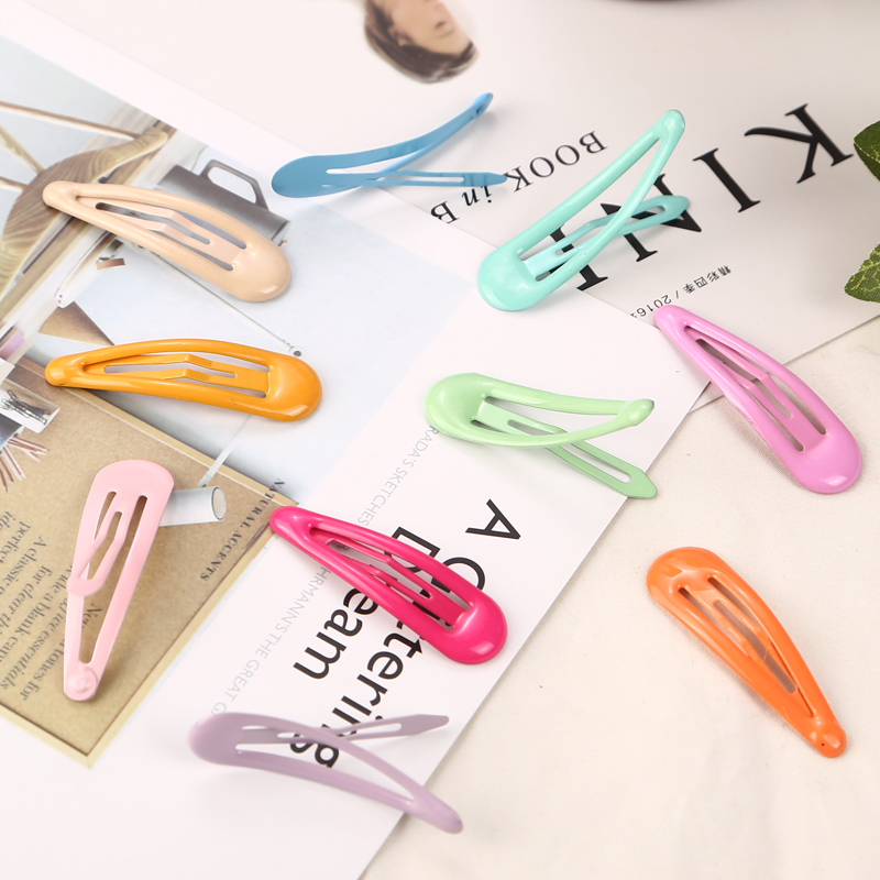 Jewelry & Watches Matte Color 10 Pcs Lot Hair Clip Barrette Made In Korea Wholesale Lot