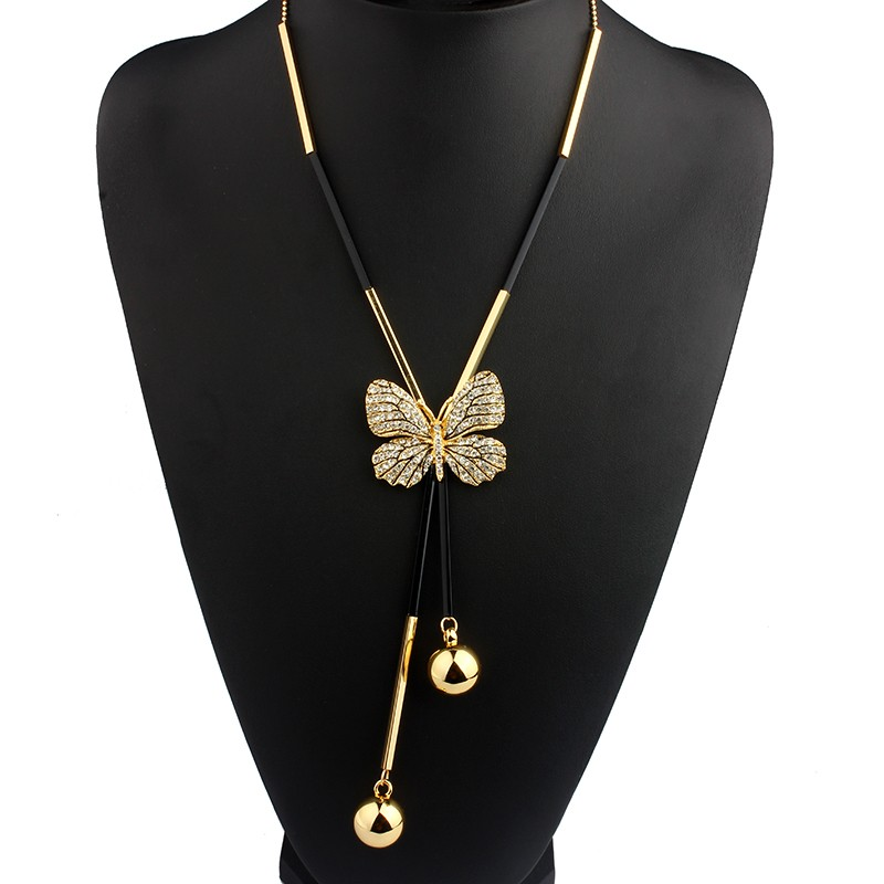long-black-and-gold-necklace-with-butterfly-pendant-1