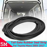 5 m Car Rear Tail Gate Rubber Sealing Strip For Toyota Hiace Low Roof 2005 2017 Car styling Accessories
