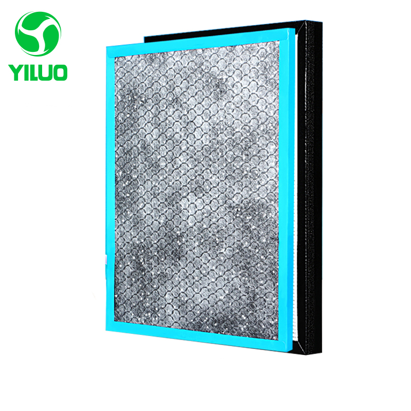 все цены на Hepa filter and activated carbon filter with high efficiency of air purifier parts for KJ30FE-NV KJ30FE-NV1 etc онлайн