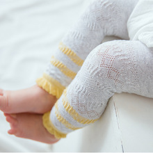 3 Pairs/lot Baby Girls Tights Knitted Pantyhose Fashion Hollow Cotton Cute Toddler Infant Clothing 0-2 Y