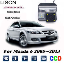 Камера заднего вида для Mazda 6 2005~ 2013 2006 2007 2008 2009 2010 M6 CCD камера ночного видения заднего вида камера номерного знака