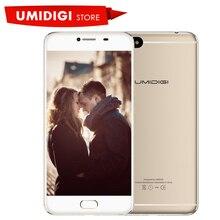 """D'origine Umidigi C Note 4G Mobile Téléphone 1920×1080 5.5 """"MTK MT6737T Quad-core Android 7.0 3800 Mah Batterie En Métal Bar Smartphone"""