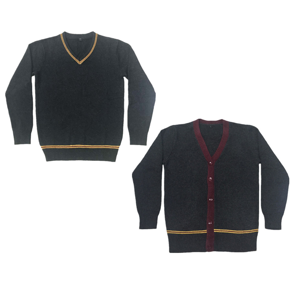 Fall Winter Knit Sweater 4 Style Long Sleeve Sweater Cardigan For Cosplay