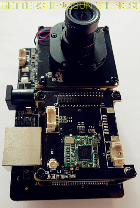 1080P 960P 720P Audio Hi3518E WiFi IP Camera P2P Wireless Dome Vandalproof CamHi