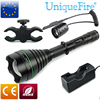 UniqueFire T67 High Power Hunting Flashlight Uf 1508 IR 940NM Infrared Illumination Mount Tail Switch Kit