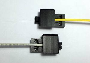 Image 2 - Free Shipping 1pair 3 in 1 Fiber Optic Clamps Fiber Holder for DVP 740 760 DVP 740 DVP 760 DVP740 DVP760 Fusion Splicer