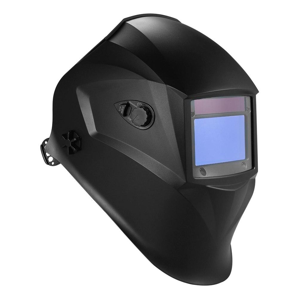 Auto Verdunkelung Soldar Power Schweiß Helm Filter Schweißen Maske Tig Mig Schleifen Mit Einstellbare Stirnband 4 Optische Sensoren