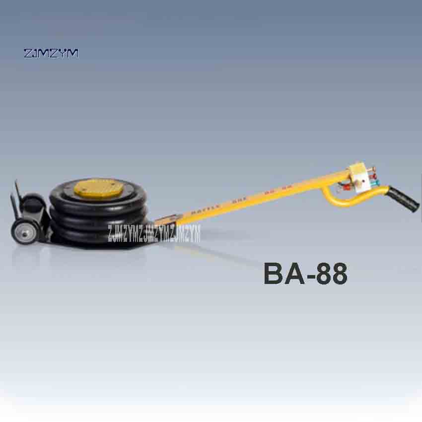 New BA-88 Pneumatic Airbag Car Jack With Vacuum Function 3000KGS 25S 5-10KG/cm 2 G1/4  -30-70 Degrees 1-10T (Load) Hot Selling