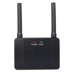 Wireless Repeater Signal Amplifier 500mW RF Learning Code Extender For Call Button Pager 433MHz F4408A