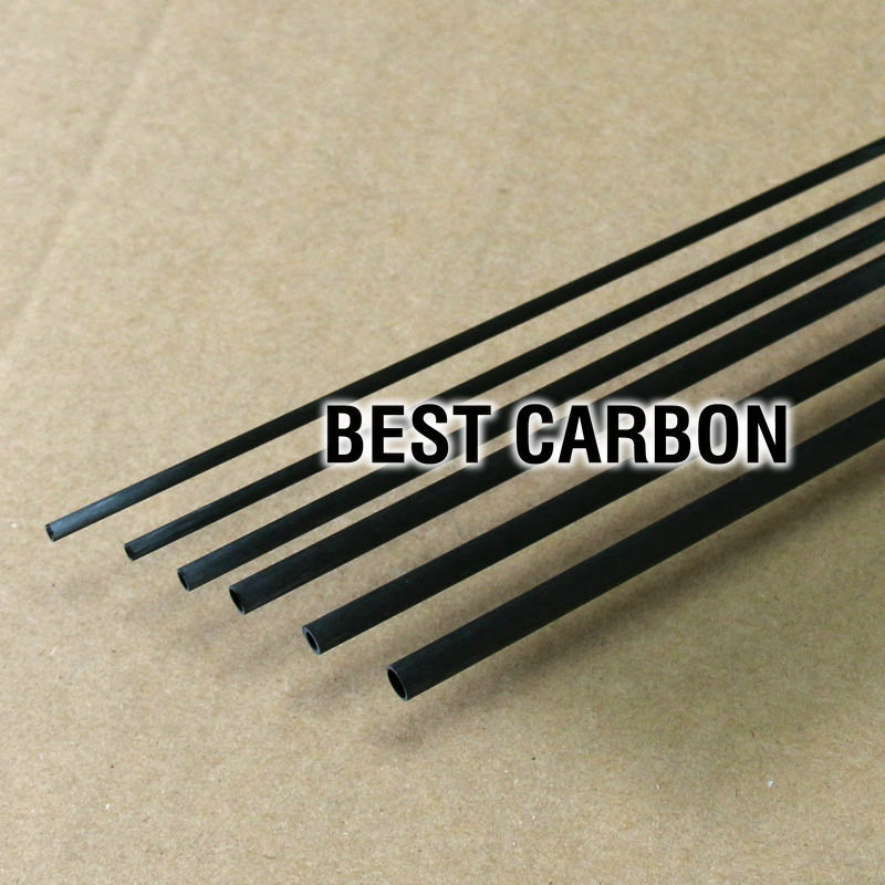 4Pcs of 5 0mm x 3 0mm x 1000mm Carbon Fiber Tube Toray T700 carbon fiber