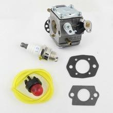 цена на Fuel Line Spark Plug For Chainsaw 309362001 Carburetor kit 309362003 For Homelite UT-10540 UT-10589 Convenient