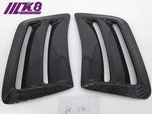 Carbon Fiber Front Side Fenders For Mercede Benz (Fits 2008-2011 prefacelift W204 C63 bumper )
