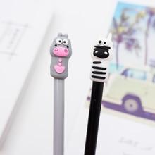 2 pcs/lot Cute cartoon cow Gel Pen kawaii stationery School Supplies Office writting pens paperlaria