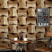 Imitation marble wallpaper 3D PVC stone pattern Retro living room industrial style background wall wallpaper office decoration