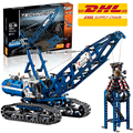 Lepin 20010 Crawler Crane building bricks blocks Toys for children boys Game Model Car Gift Compatible with Bela 42042