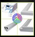 Joint de porte de réfrigérateur d'acier inoxydable Commercial bande d'étanchéité magnétique porte joint en caoutchouc quatre porte six porte universelle Pièces de réfrigérateur     -