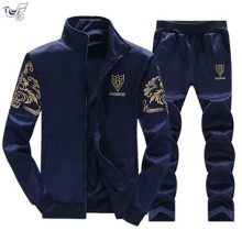 Brand Men Sets Fashion Autumn Spring Sporting Suit Sweatshirt+Sweatpant Tracksuit Men`s sportswear Clothing 2 Pieces M-4XL