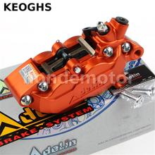 Cheaper KEOGHS Adelin Adl07 Brake Caliper For Hydraulic Disc Brake 4 Pistons 40MM Cnc Aluminum Workmanship For Motorcycle Modified