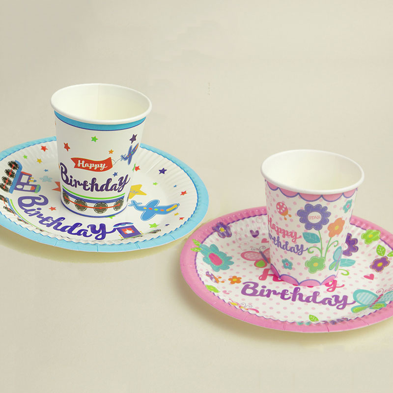 Cute Cartoon Flowers Aircraft Bee Birthday Party Disposable Tableware Set Plates Cups Baby shower Decor Supplies Kids Favorates-in Disposable Party ...  sc 1 st  AliExpress.com & Cute Cartoon Flowers Aircraft Bee Birthday Party Disposable ...