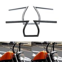 Motorcycle 1 Z Bar Handlebar For Honda Rebel 250 Shadow Aero 750 Sabre 1100 VLX 600 For Harley Choppers Bobber Custom driving passing turn signals spot light bar for harley customs choppers cruiser honda vt 750 1100 vtx 1300 shadow u 1800