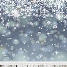 Natal branco flocos de neve branco backdrops para fotografia de estúdio fundos fundo da fotografia 150cm * 200cm