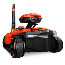 цены RC Tank with HD Camera ATTOP YD-211 Wifi FPV 0.3MP Camera App Remote Control Tank RC Toy Phone Controlled Robot