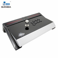 Qanba Q5 PS4 01 Joystick Wired USB LED Light 8.5 Inch Reinforced High End Arcade Joystick Gamepad For PlayStation 4 / 3 and PC