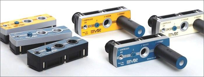 Corée du sud générateurs de vide à plusieurs étages VTM25-1412A (3 paragraphes tube Rafael) 389L/min