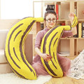 20/70/90cm Large Size Creative Banana plush Toys Baby Bed Cloth Doll Stuffed animals Doll Christmas present