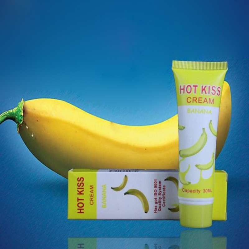 50ml Banana Flavor Sex Lubricant For Edible Sex Lube Lubricante For Oral Vagina Anal Sex Gel For Gay Lubricants  Oral Job Shop (4)
